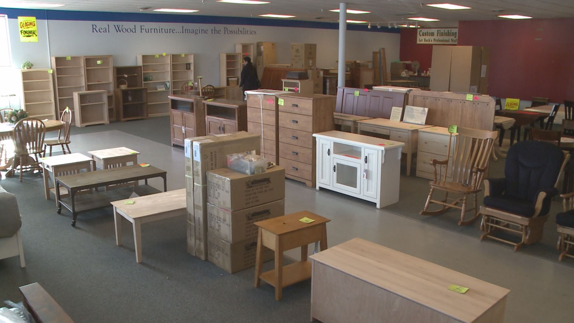 Buck s Unpainted Furniture closing reflects chaging