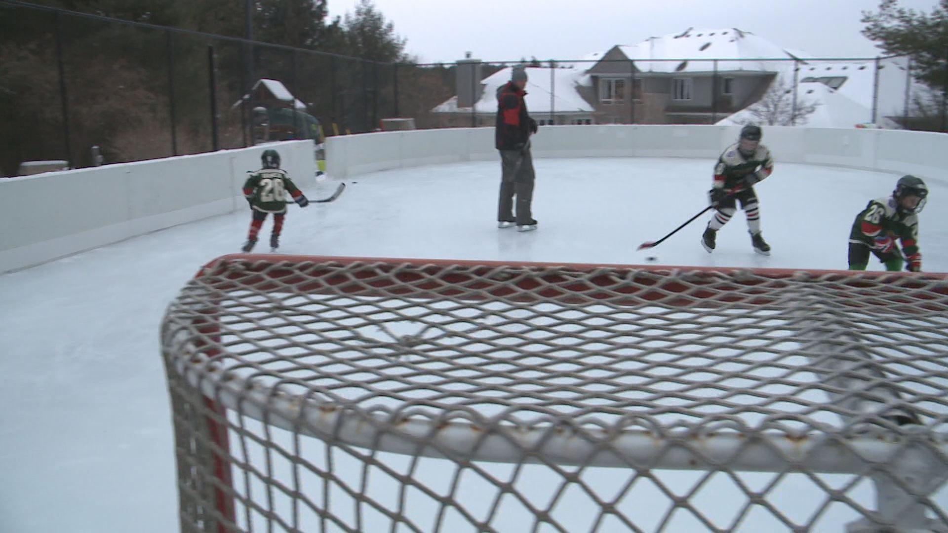 backyard rink is vanek u0027s refuge kare11 com