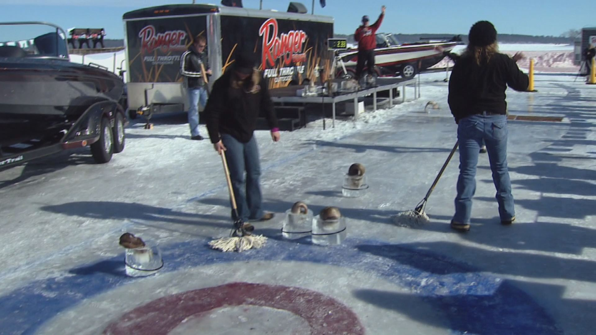 Ice conditions force changes at eelpout festival for Leech lake ice fishing