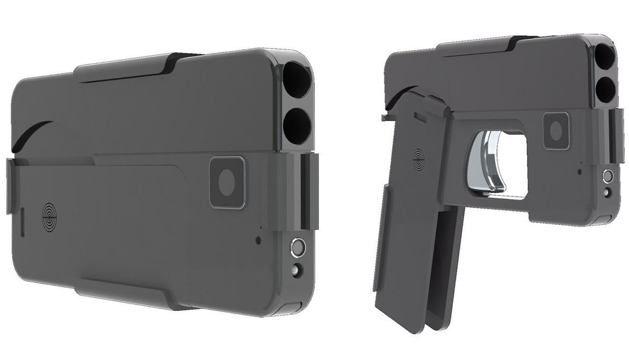 MN company invents gun that looks like a cell phone