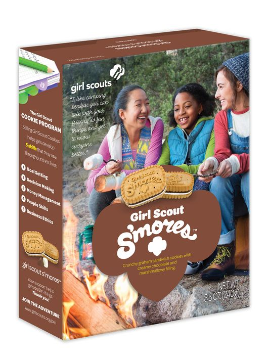 kare11   girl scouts announce new s mores cookie
