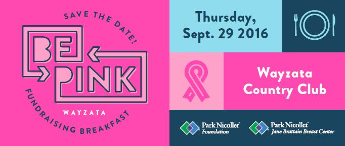 Bepink Fundraising Breakfast Supports Park Nicollet Jane Braittain Breast Center Kare11 Com