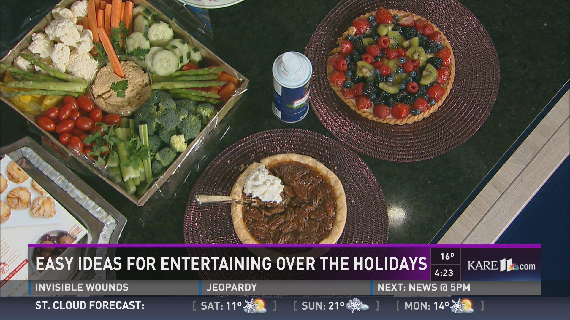 Easy ideas for entertaining during the holidays for Easy entertaining tips