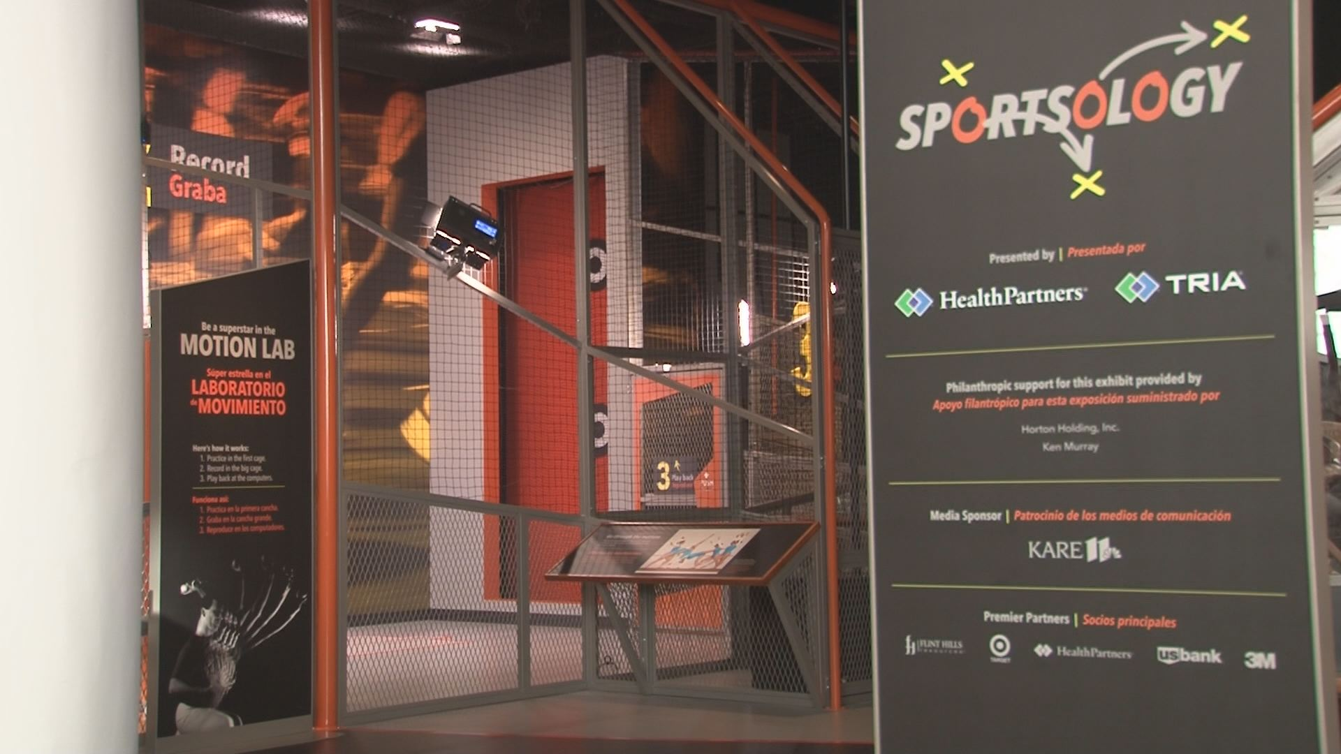 Science house at the science museum of minnesota -  Sportsology Opens At Science Museum Kare11 Com
