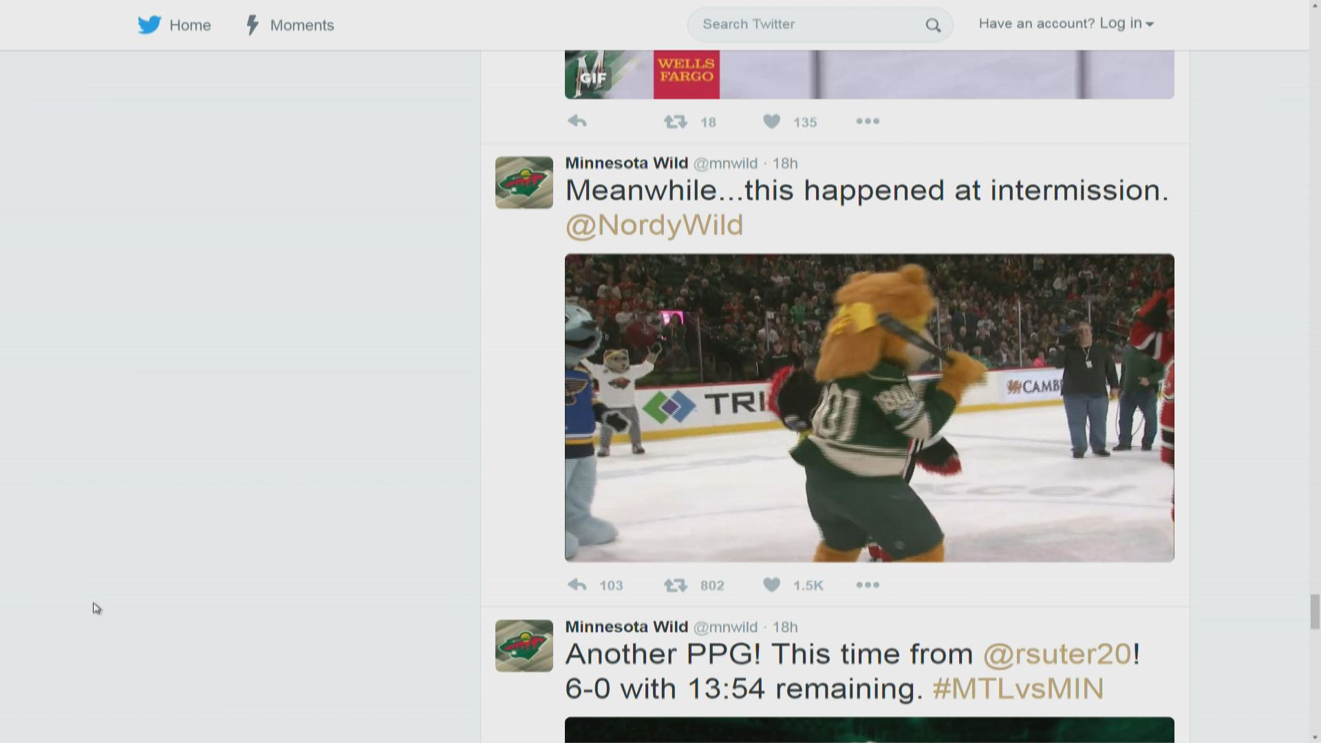 Reactions mixed over Wild mascot skit