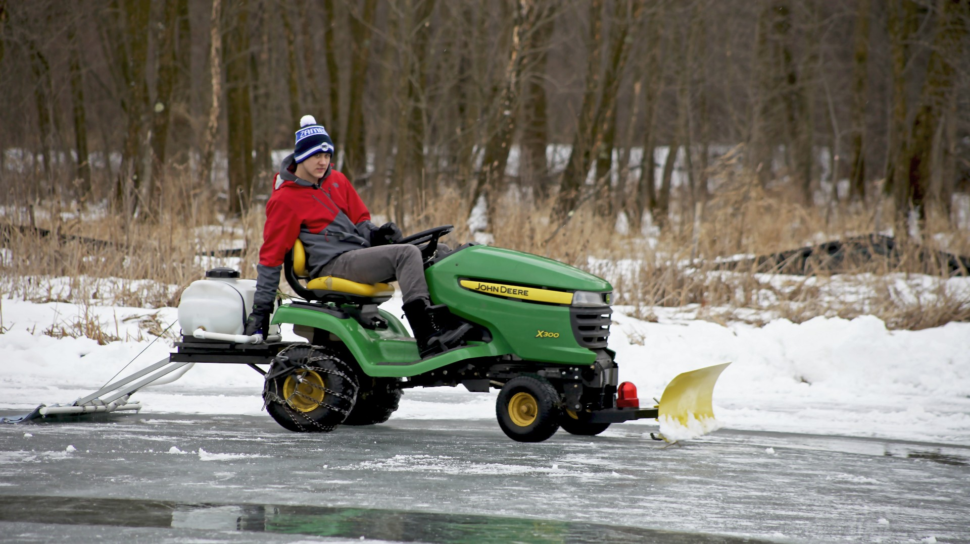 boy with autism gets his own 39 zamboni 39