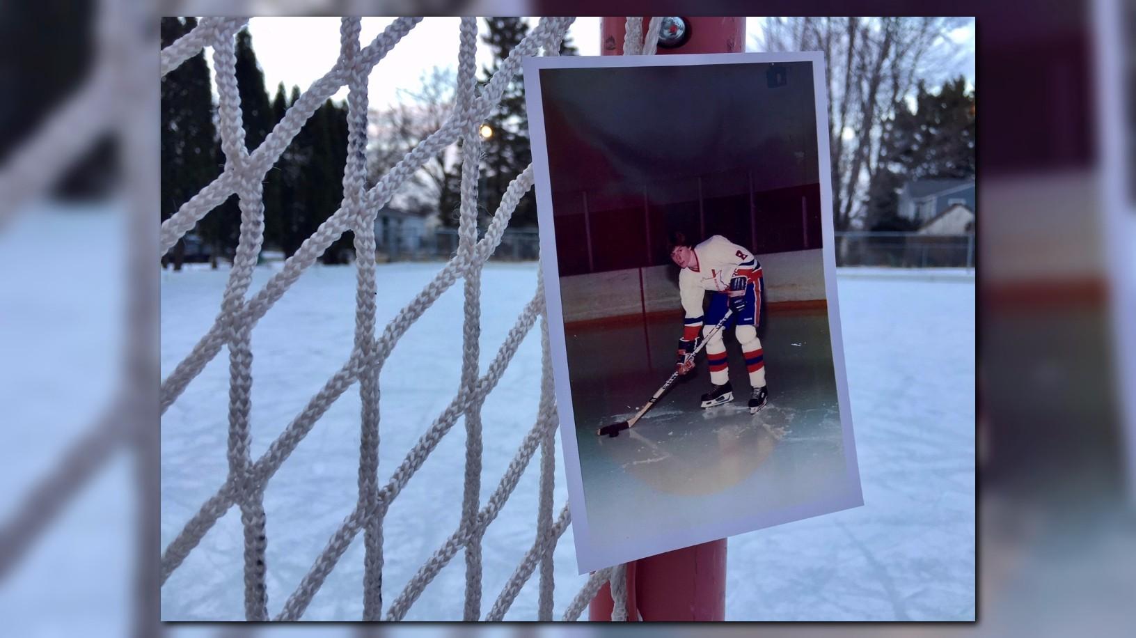 ksdk com father u0027s ice rink fills backyard and a purpose