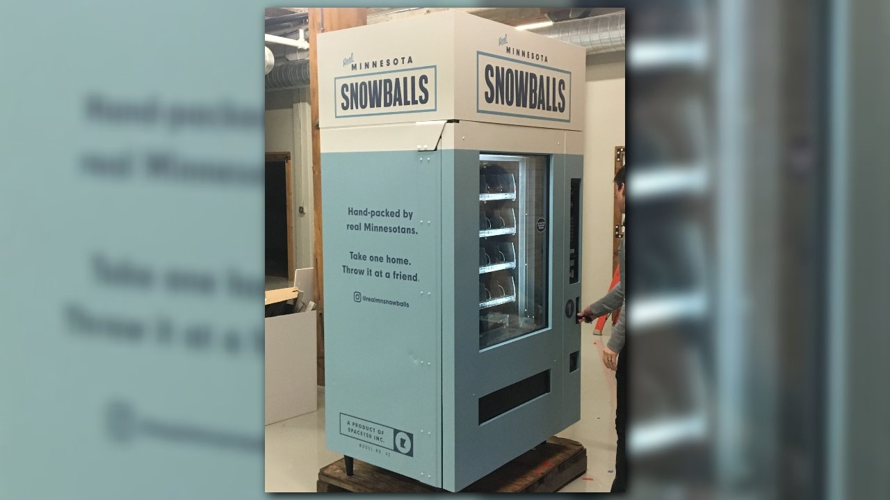 khou.com | You can buy a snowball from a vending machine in MN