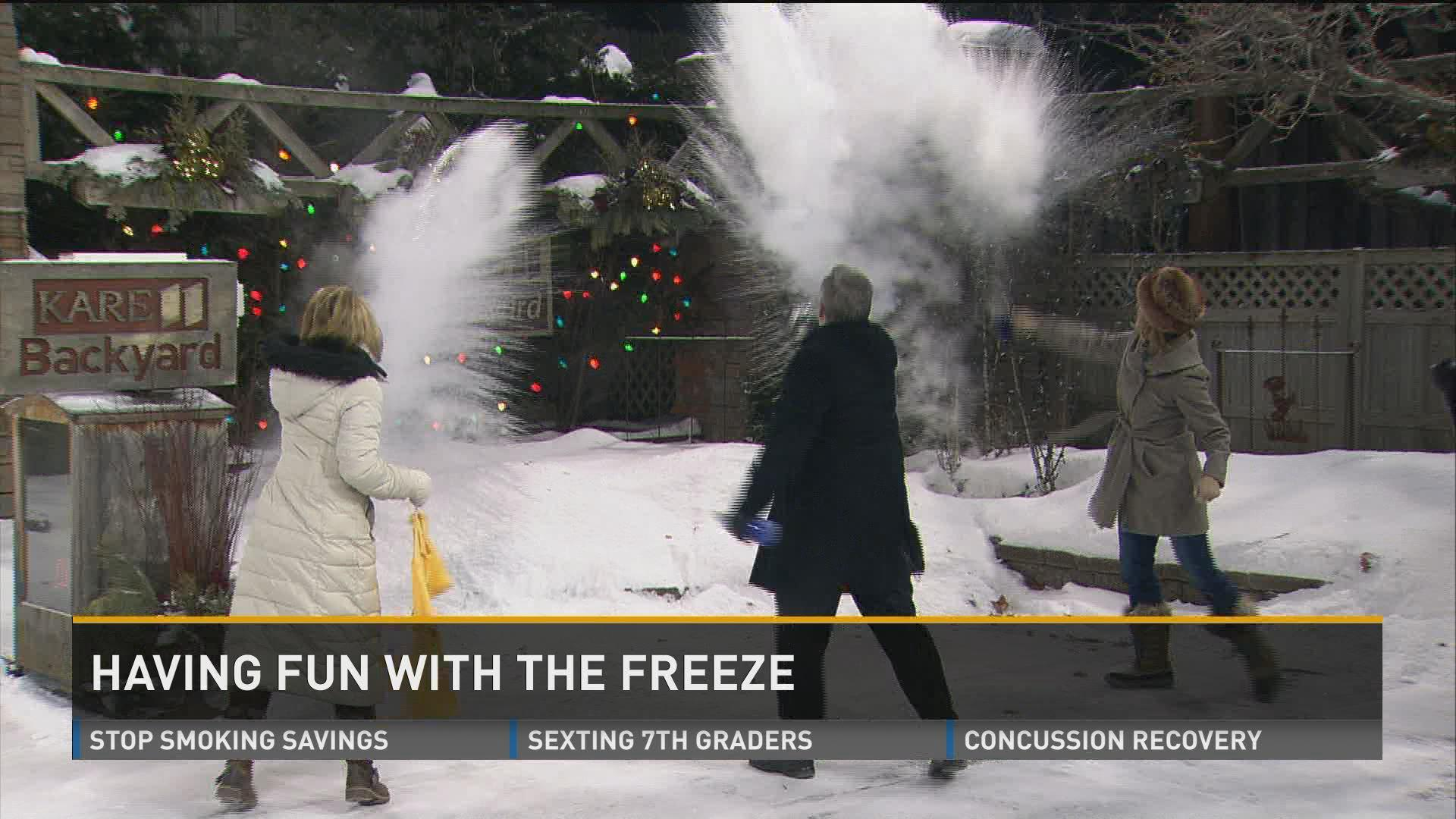 Cold Weather Science With The Kitchen Pantry Scientist Kare11 Com